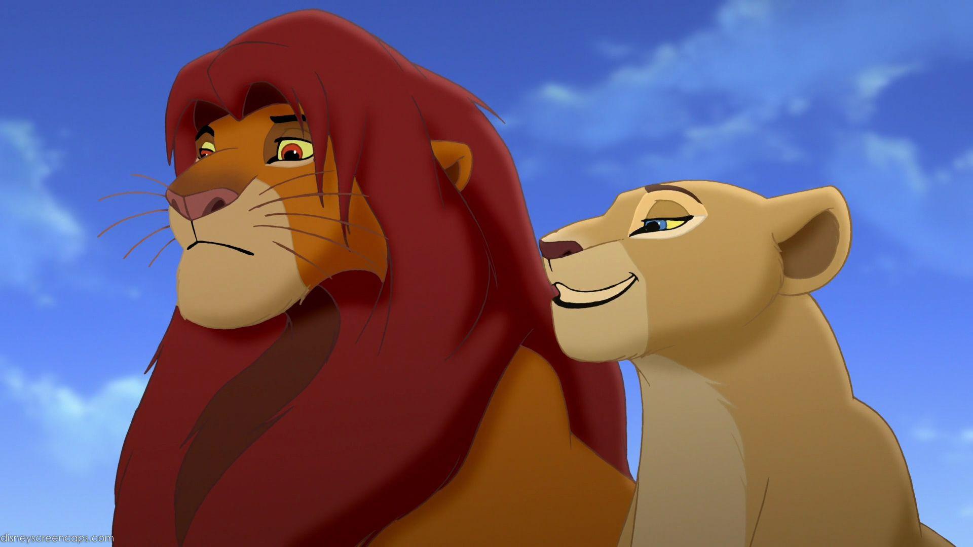 King Simba And Queen Nala Der Konig Der Lowen Konig Der Lowen