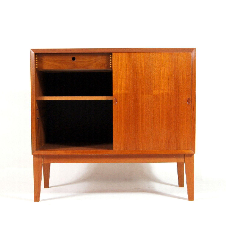 Retro Vintage Danish Poul Cadovius Teak Sideboard Cabinet 60s 70s Scandinavian Retro Sideboard Sideboard Storage Teak Sideboard