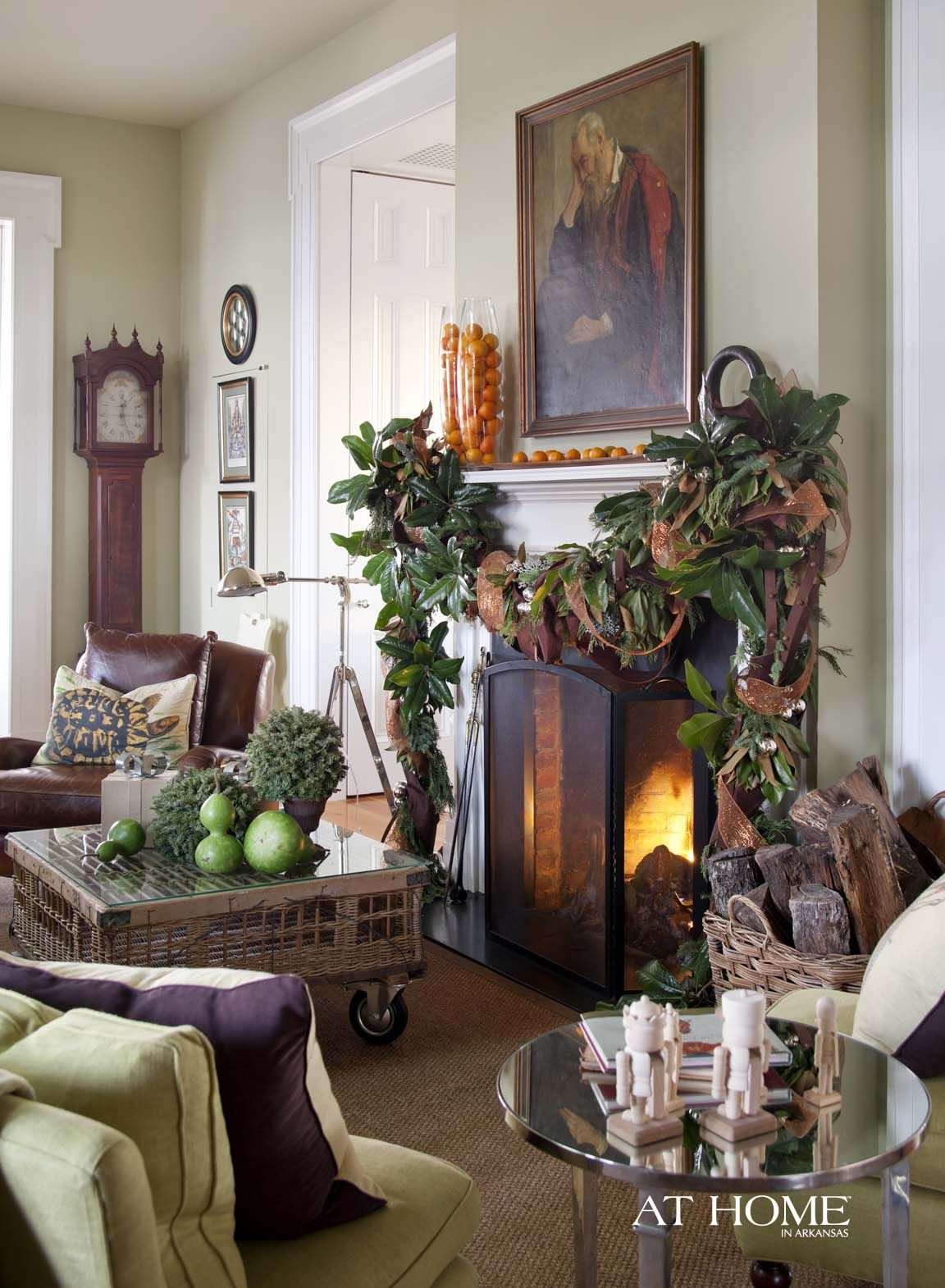P. Allen Smith's Moss Mountain Farm, Photographed by Nancy Nolan for @A T Home in Arkansas Magazine  http://www.athomearkansas.com/article/garden-home-holidays