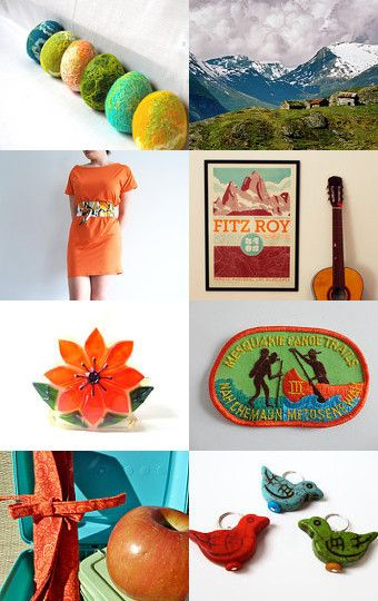 In the mountains by Anke on Etsy--Pinned with TreasuryPin.com #handmade #vintage #offer #wonderful #colors