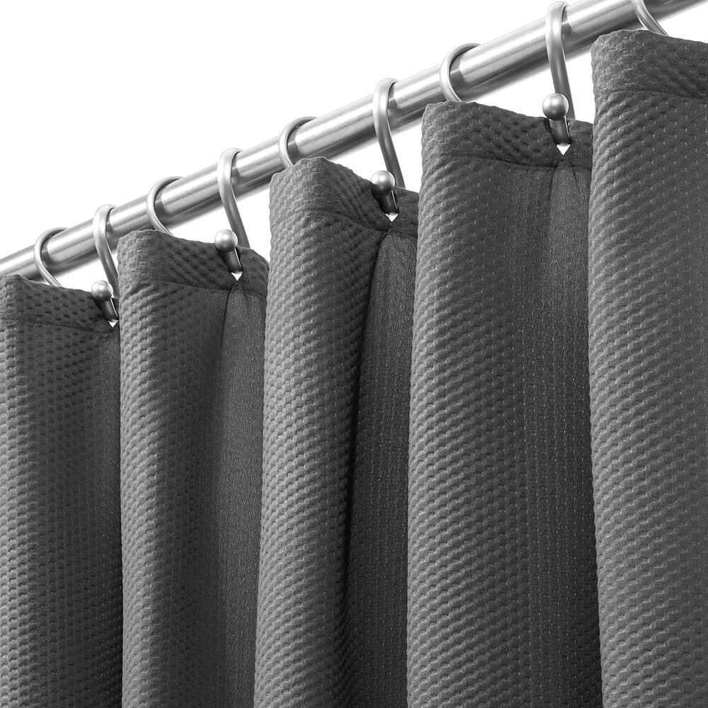 Long Fabric Damask Printed Shower Curtain 72 X 84 Fabric