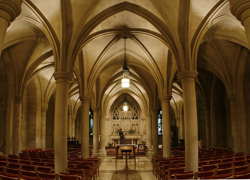 Bethlehem Chapel - Washington National Cathedral -- I've actually been here; however, I was really small at the time.