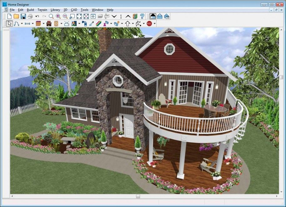 Awesome Home Designs: Wonderful House Design Round Deck Excellent House  Design Software Ideas, Architectural