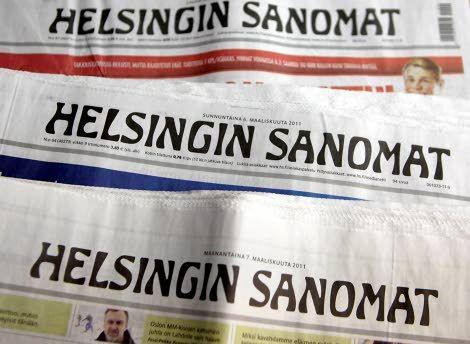 Helsingin Sanomat. Jokaisen aamun seuralaiseni vuodesta 1990.