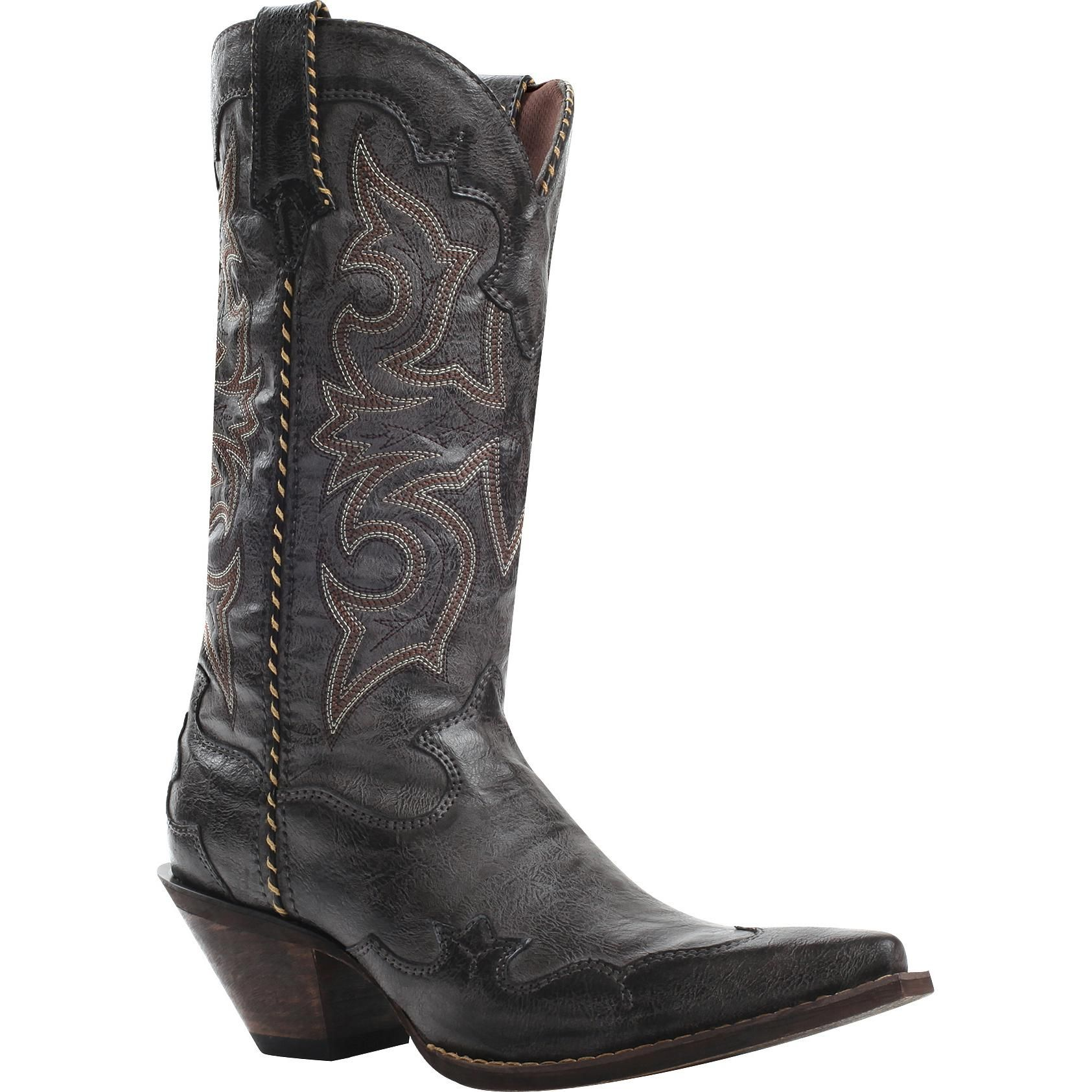 Leather western boots, Western boots