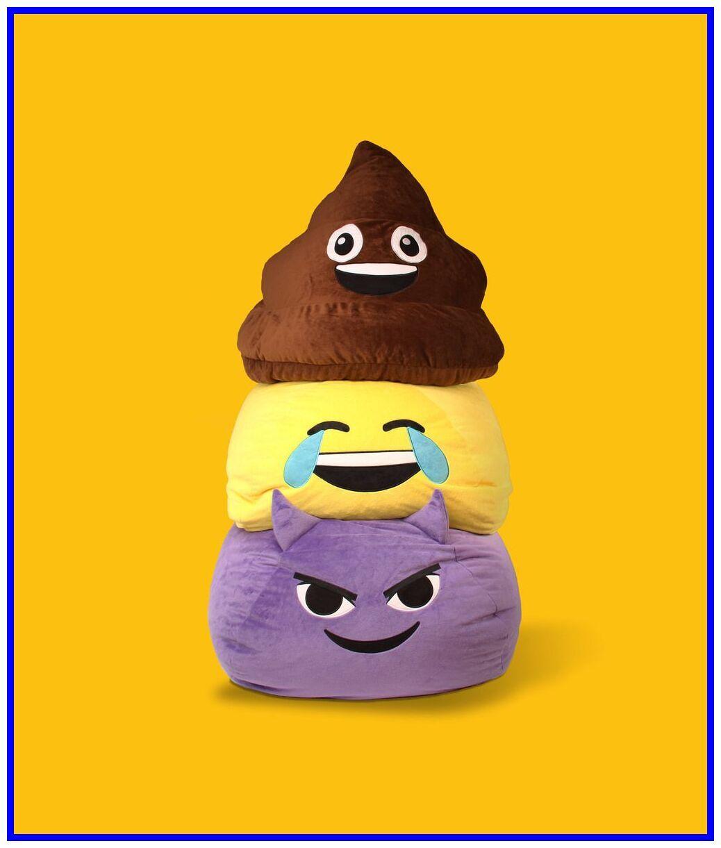 47 Reference Of Emoji Poo Bean Bag Chair In 2020 Emoji Bean Bag Fuzzy Bean Bag Chair Bag Chair
