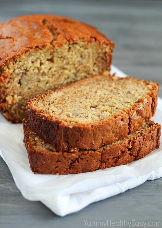 Healthier banana bread made with white whole wheat flour and greek healthier banana bread made with white whole wheat flour and greek yogurt but is moist and forumfinder Image collections