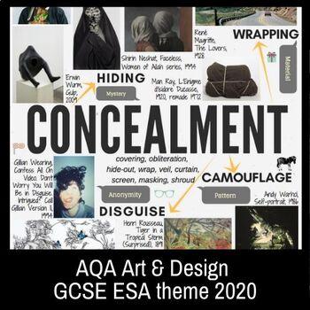 Concealment Theme Mind Map Interactive Artist Links Aqa Gcse Esa 2020 In 2020 Mind Map Design Photography Sketchbook Mind Map