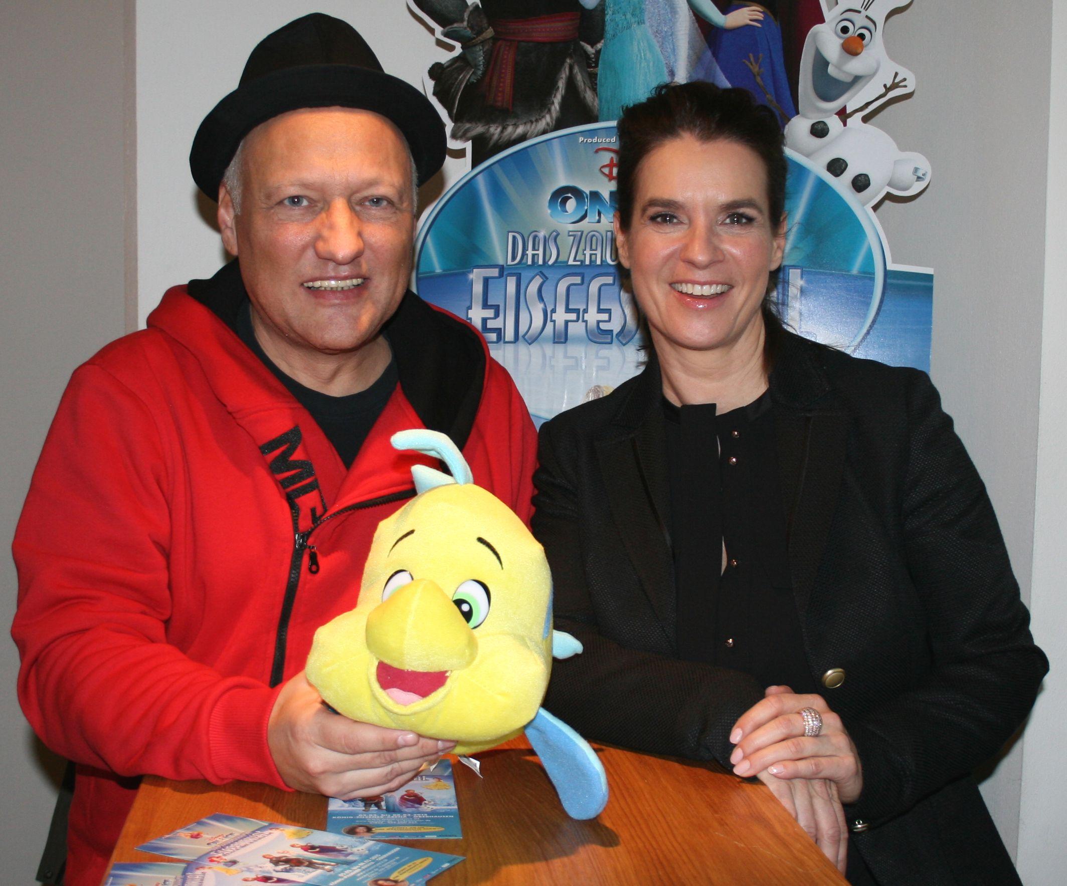 Promitalk mit Katarina Witt zum Engagement ihrer
