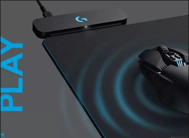 Logitech S Powerplay Mouse Mat Wirelessly Charges Gaming Mice While Its In Use Avec Images Tapis De Souris Tapis De Souris Gamer Souris Gamer