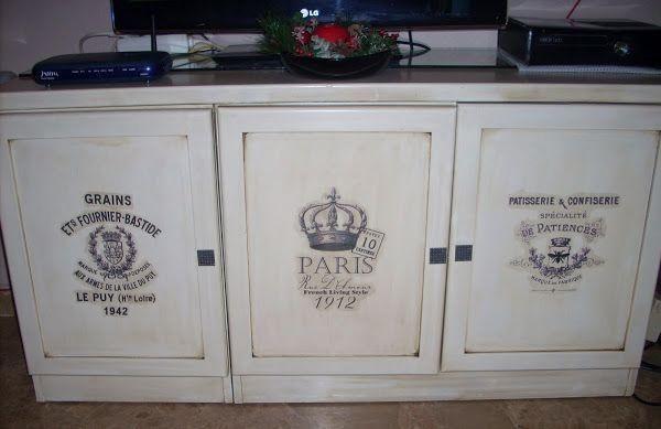 Cómo pintar en tonos blancos un mueble auxiliar