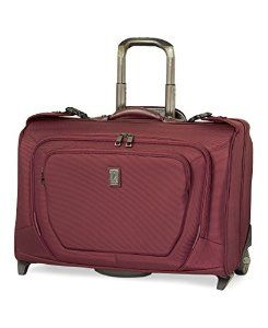 Travelpro Crew 10 Carry On Rolling Garment Bag Review Travel Quest Finally In A Color That Women Will Love Wine Red Ious And Durable