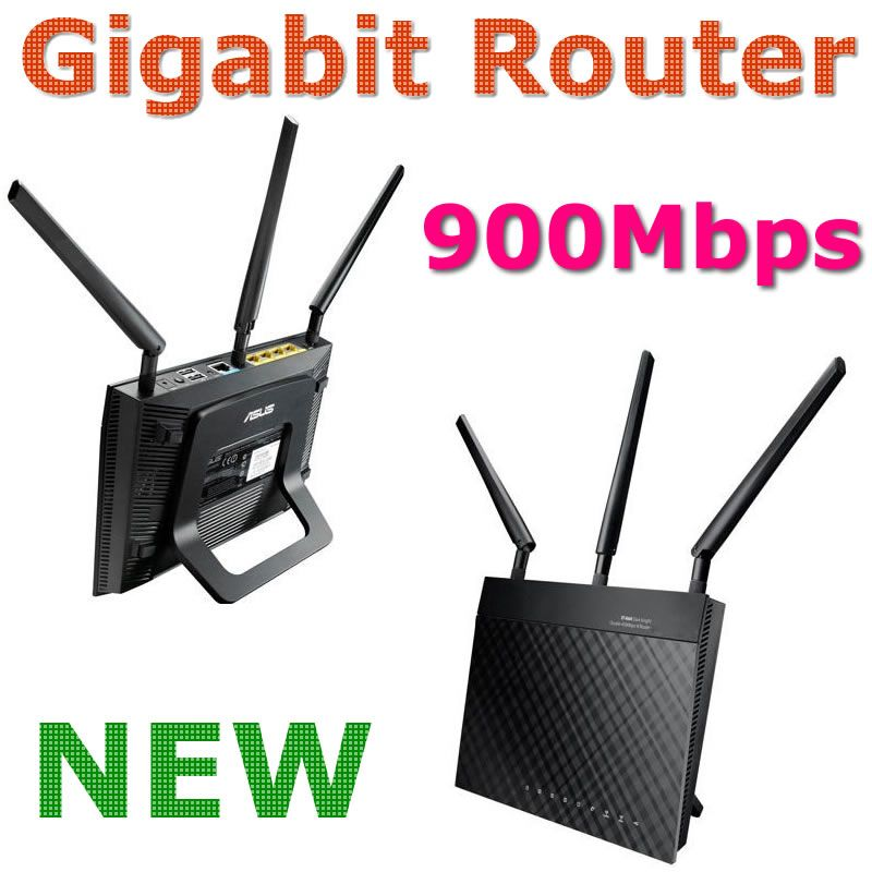 New Rt N66u R Dual Band Wireless 900mbps Gigabit Router Wifi Router With 3 X Detachable R Sma Antenna 2 X Usb 2 0 For Asu Router Wifi Router Wireless Routers