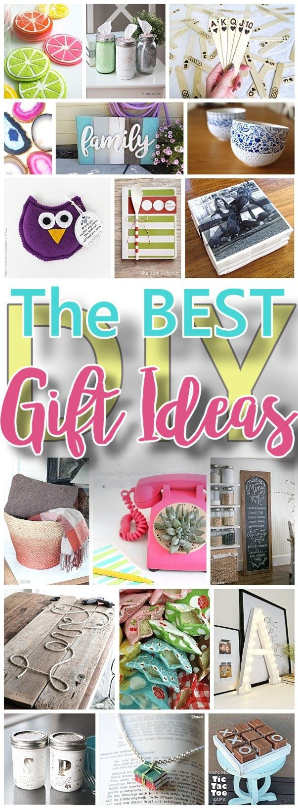 The best do it yourself gifts fun clever and unique diy craft the best do it yourself gifts fun clever and unique diy craft projects and ideas for christmas birthdays thank you or any occasion solutioingenieria Choice Image