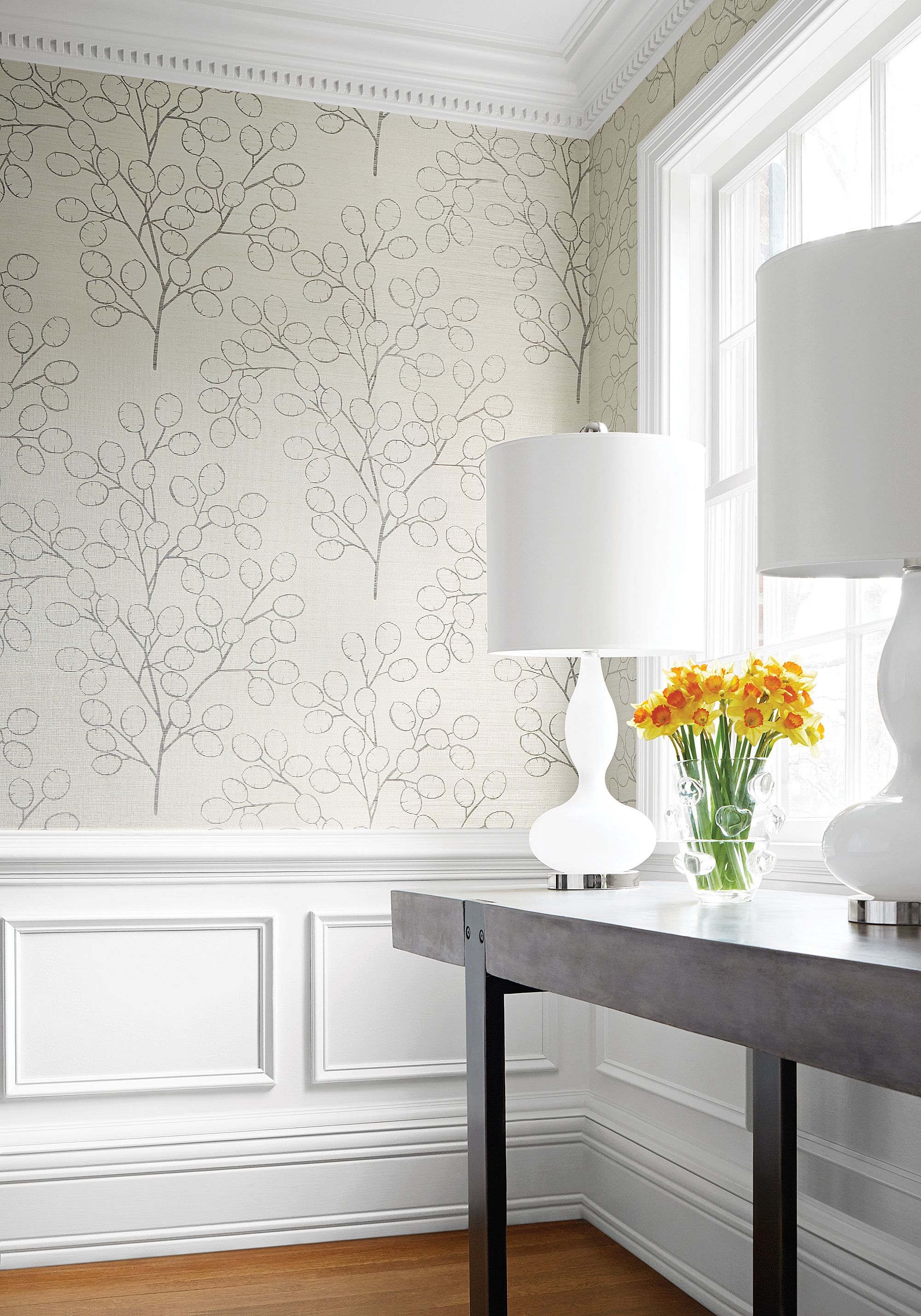 Tree Design Wallpaper Living Room: Money Tree From Natural Resource 2 Collection