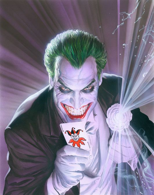 60367d07 Alex Ross Mythology: The Joker by Alex Ross (awesome Joker art ...