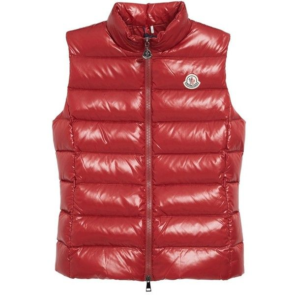 moncler ghany vest red