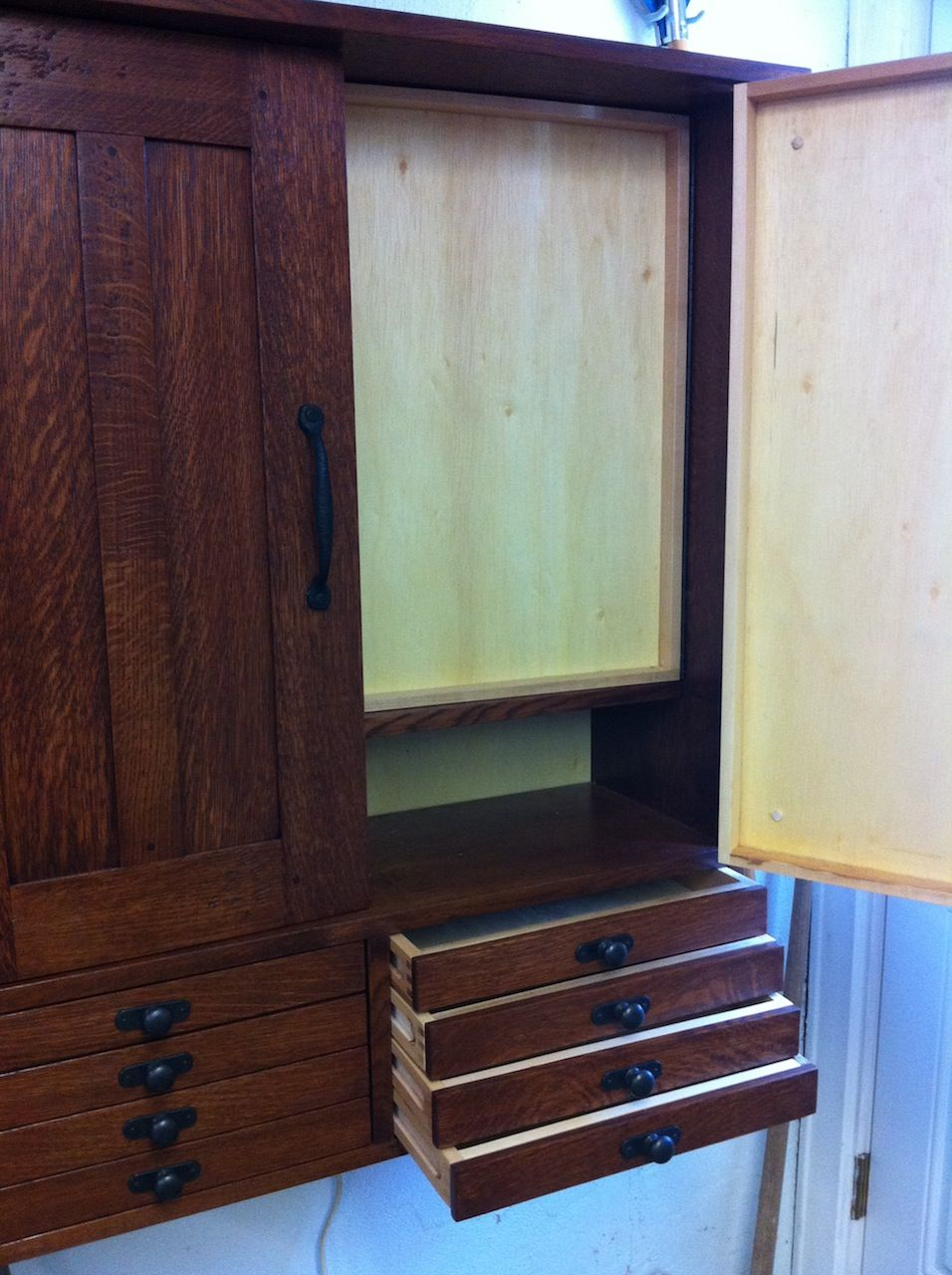 An Elegant Tool Cabinet Crafted With Care!