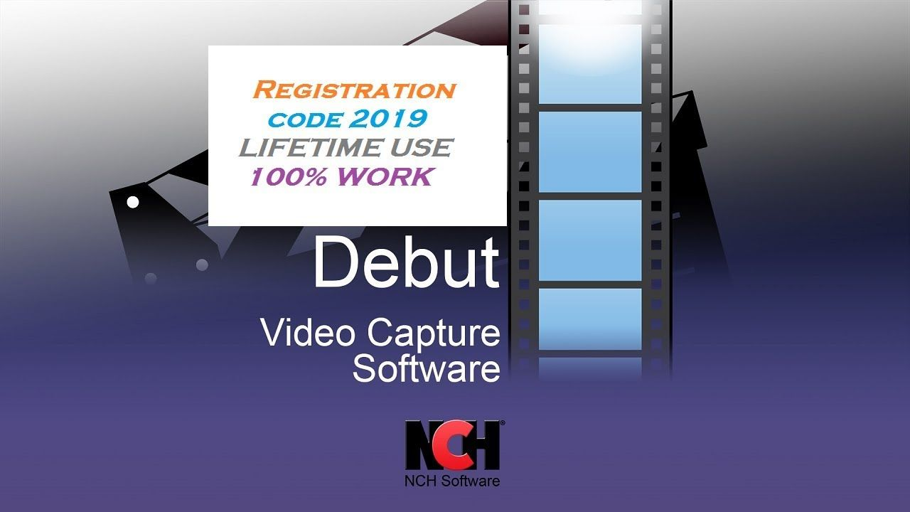 nch debut video capture pro