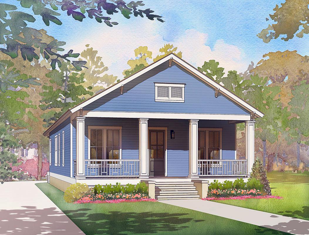 Florida Cracker Coastal House Plans from Coastal Home Plans