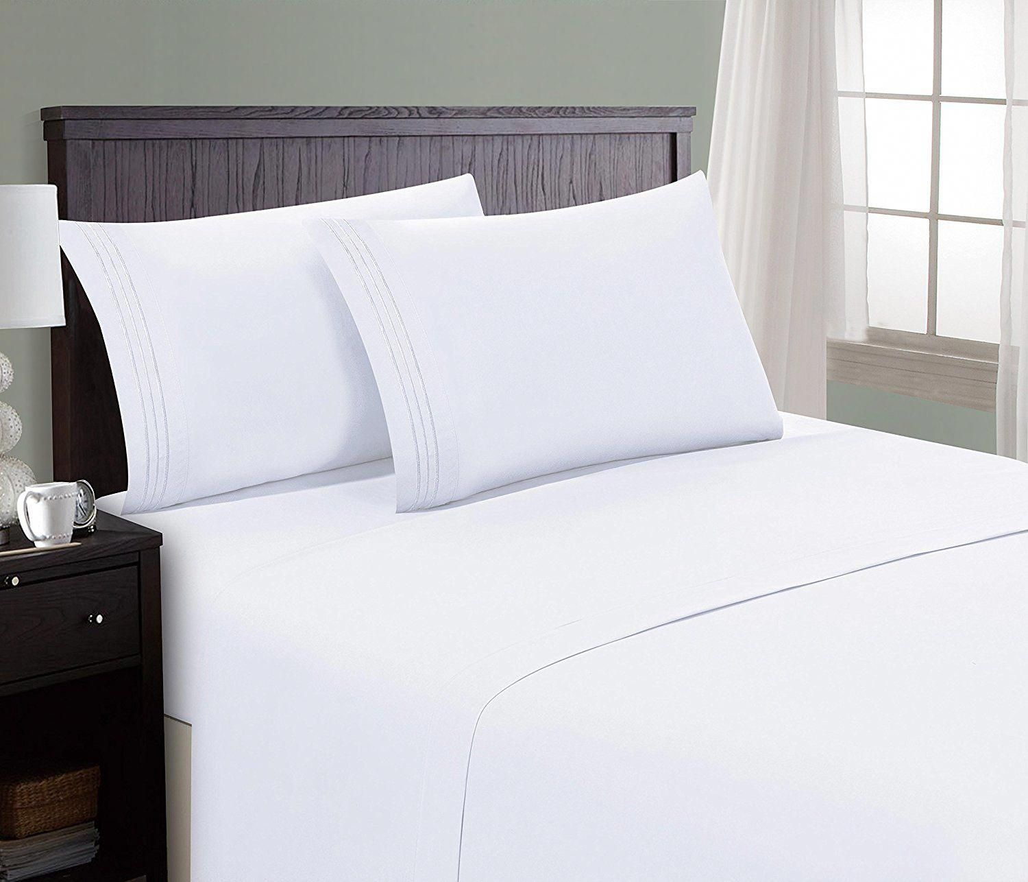 Hc Collection Bed Sheet Pillowcase Set Hotel Luxury 1800 Series Egyptian Quality Bedding Bedlinenbrand