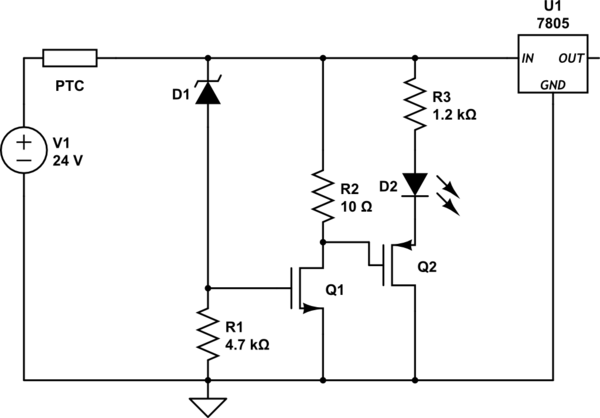 Mosfet Is An Electrical Circuit Used To Power A Light Emitting Diode