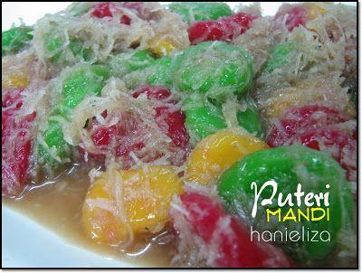 Kueh Puteri Mandi Food Eat Malaysian