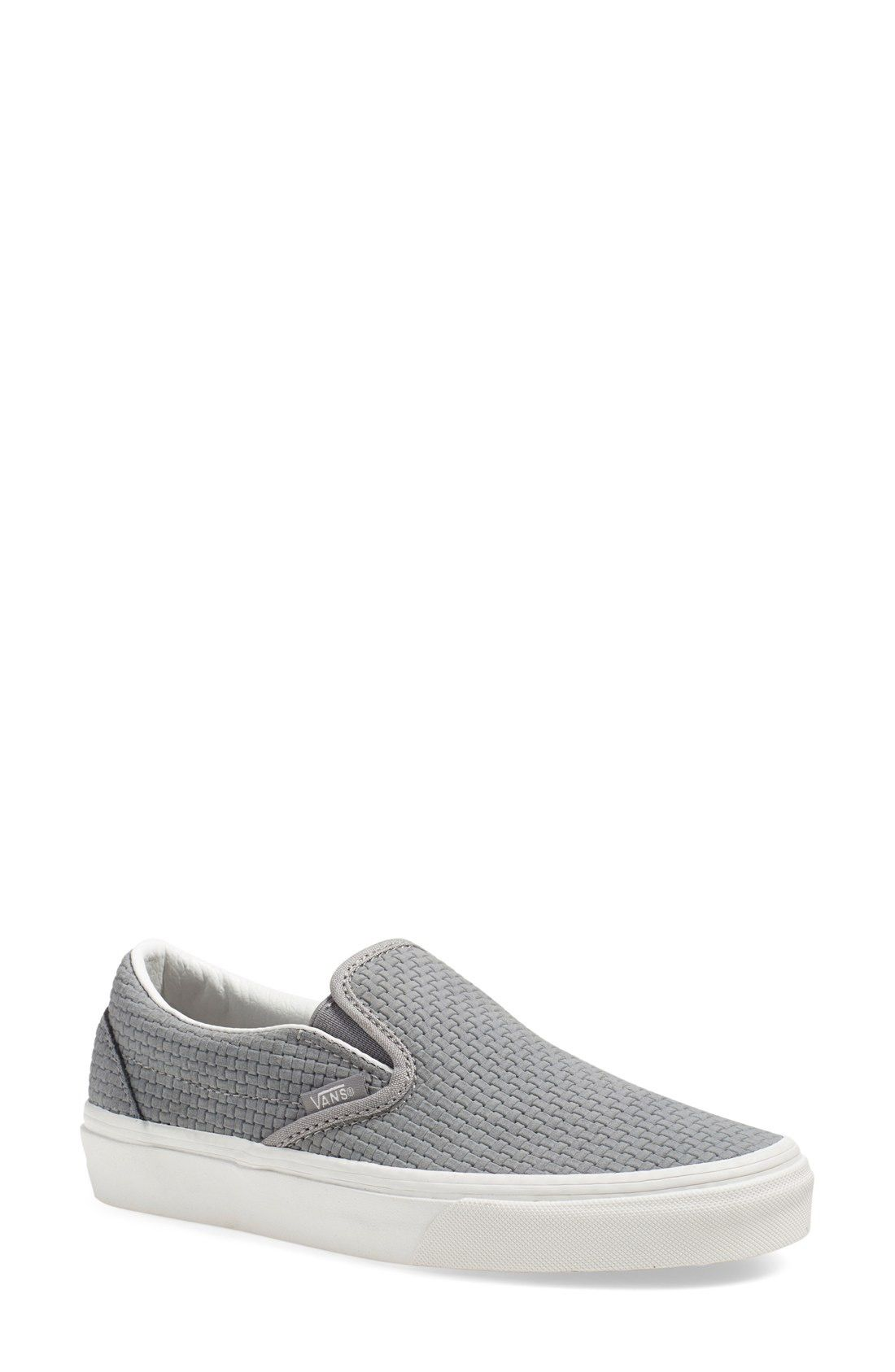 Vans Classic Slip-On Sneaker (Women) Grey Color: Wild Dove Suede