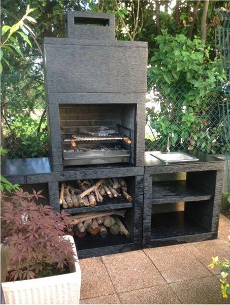 barbecue moderne avec evier av45m faites votre choix en. Black Bedroom Furniture Sets. Home Design Ideas