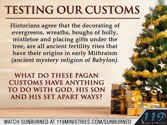 Jehovah Witness Christmas.Christmas Customs Unwrap The Truth Are You Honoring The