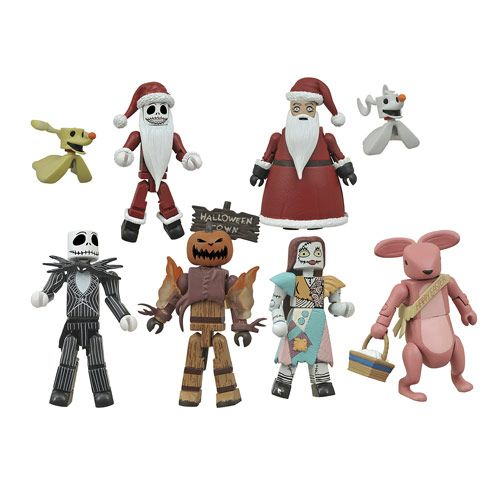 Diamond Select Nightmare Before Christmas Series 10 Nightmare Before Christmas Minimates Series 2 Random 6 Pack With