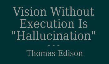 Lo importante es la EJECUCIÓN de la idea