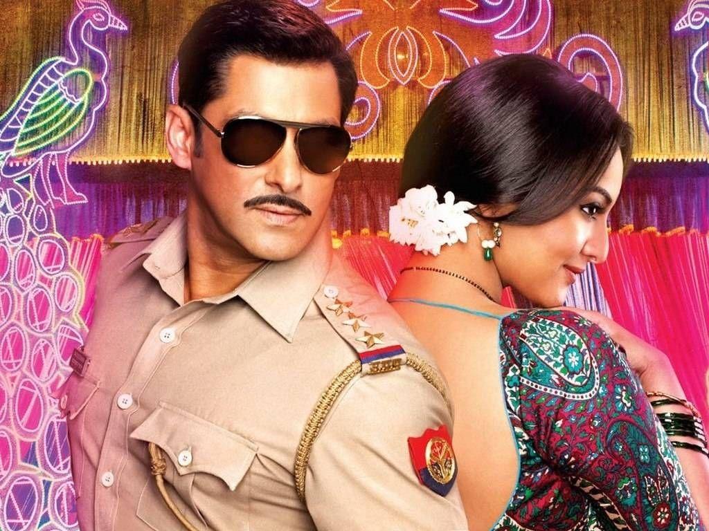 Dazzling Wallpapers Full Hd Sonakshi Sinha And Salman Khan In