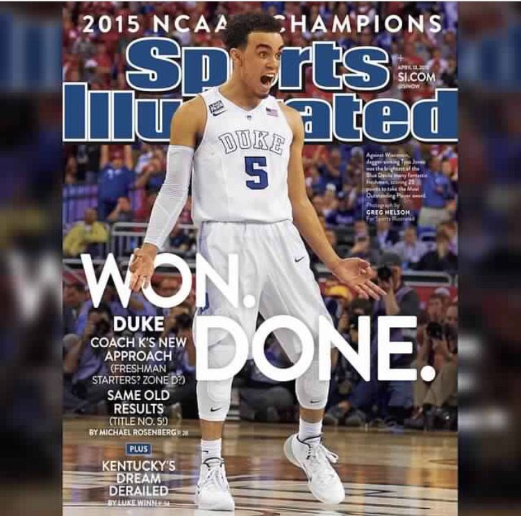 Idea by Logan Collins on Duke basketball Tyus jones