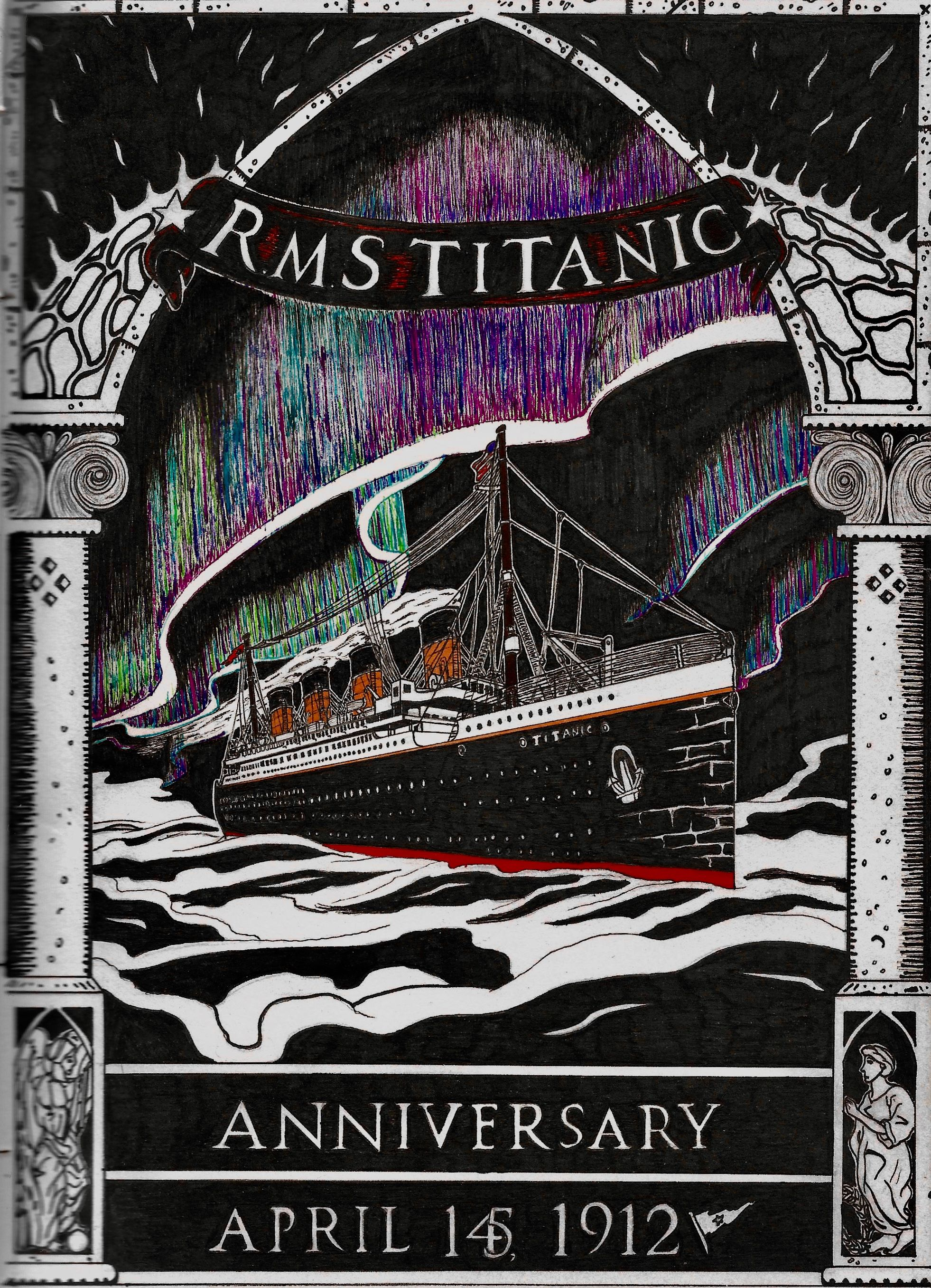 Titanic Image By William Slattery