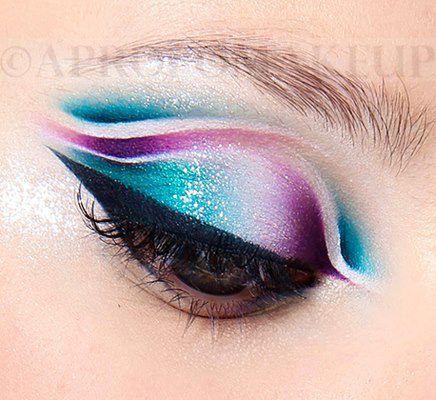 Machiaj Banana Deschisa Make Up Human Eye Eyes și Makeup