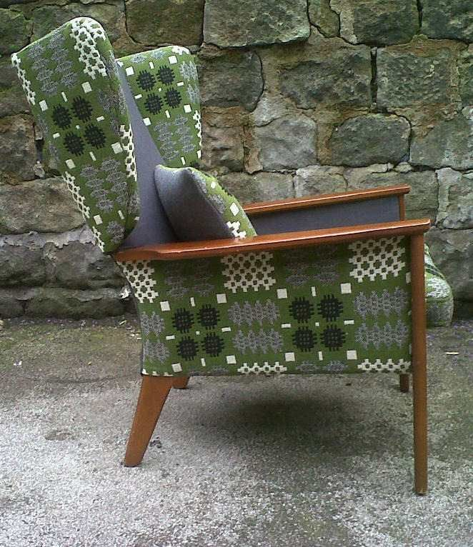 Upholstery Vintage Chairs And Cushions