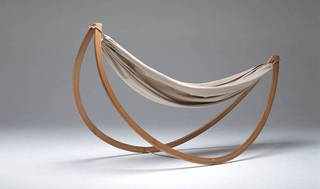 georg bechter   designer georg bechter is behind the woorock hammock swing which is essentially an easy to set up hammock that also behaves like a rocking     modern and stylish woorock hammock swing by georg bechter   e   yaa      rh   pinterest