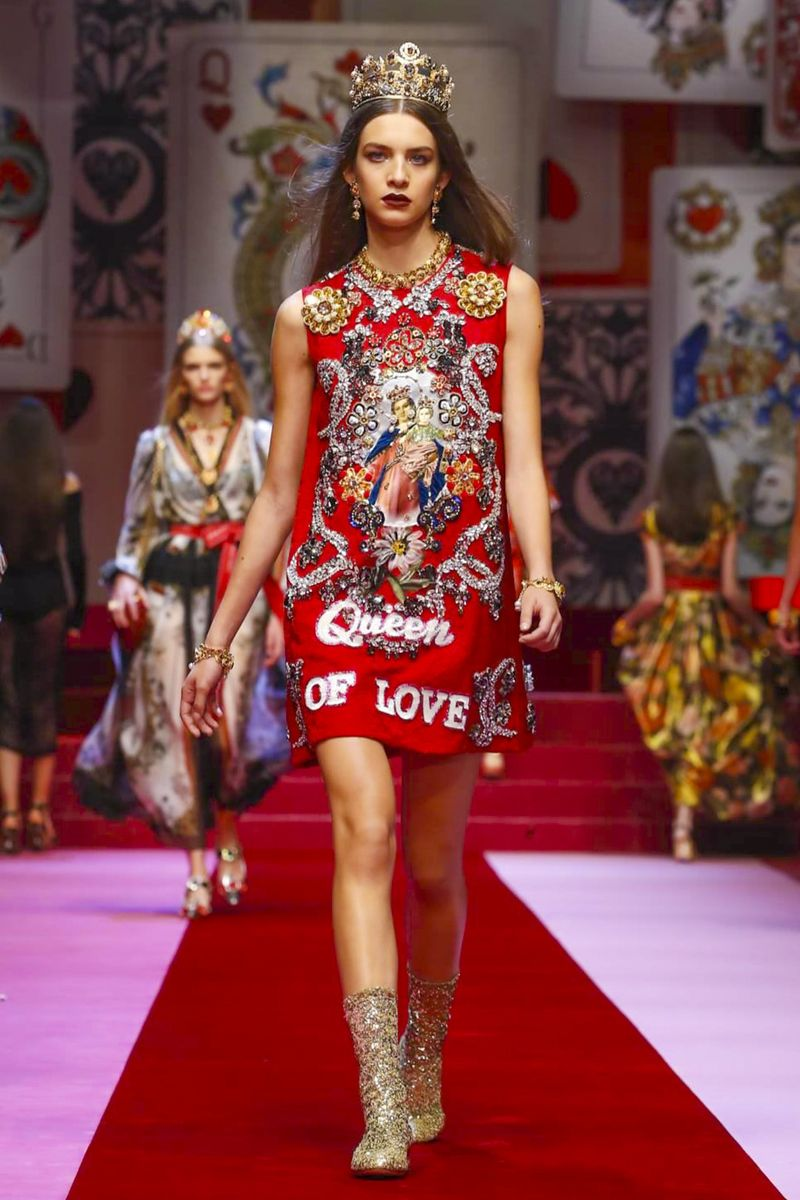 7e00ce4b74db1 Dolce Gabbana Fashion Show Ready to Wear Collection Spring Summer 2018 in  Milan