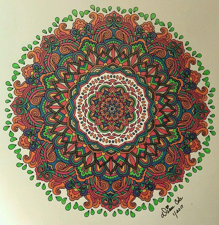 ColorIt Mandalas Volume 2 Colorist Diane Cole Adultcoloring Coloringforadults