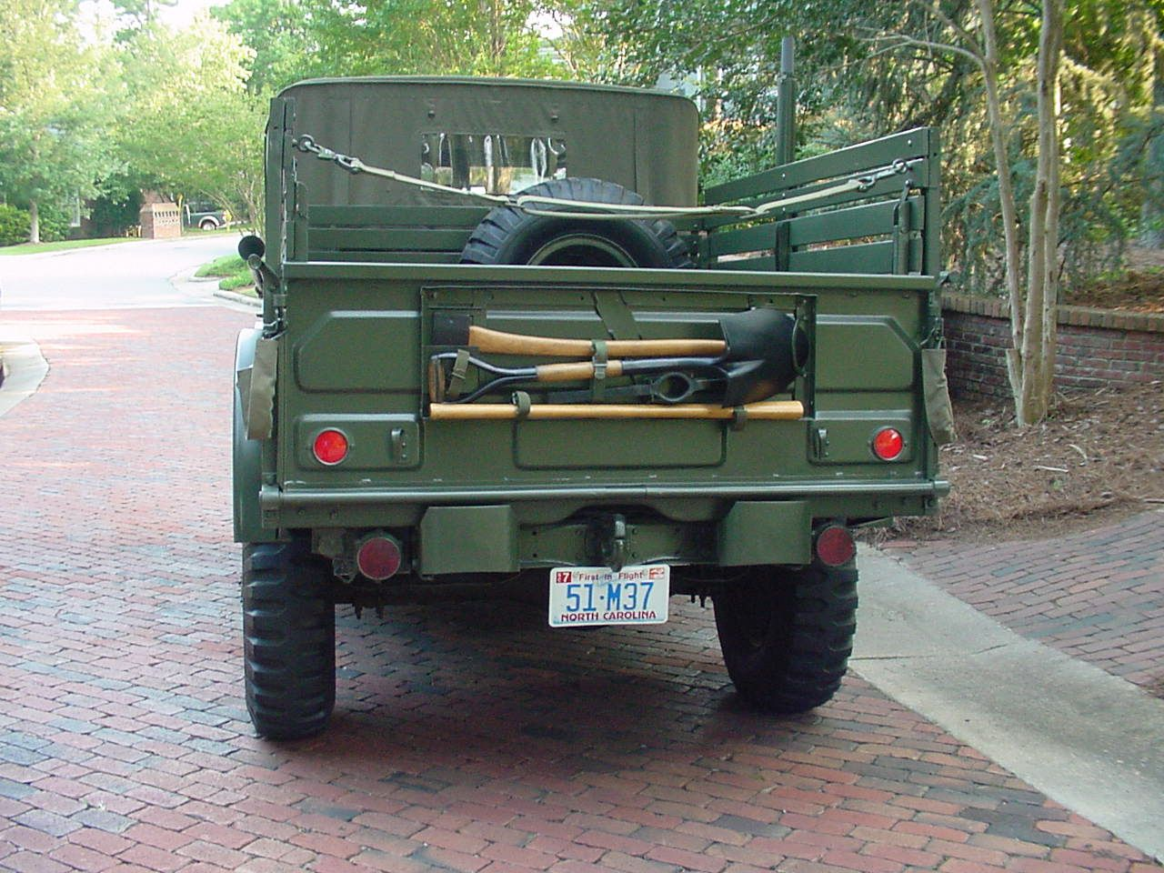 Dodge trucks in wwii - Wwii Pioneer Tool Rack Pin Dodge M37 1951 On Pinterest