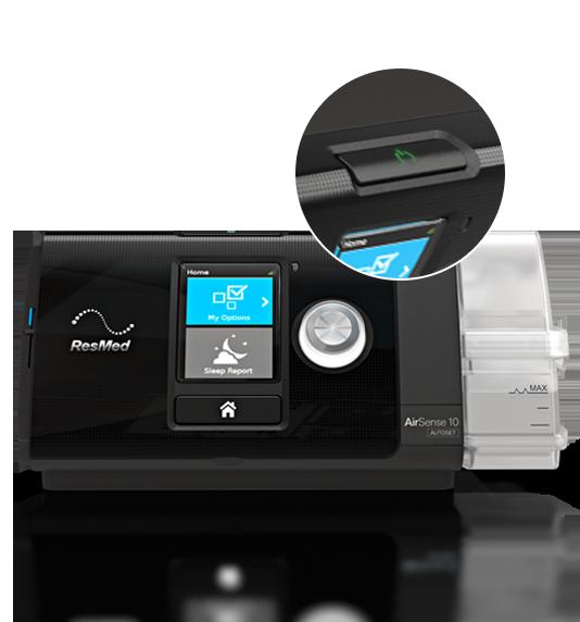 Premium Auto Adjusting Sleep Apnoea Device New Autoset Response Mode Humidification Optional Heated Tubing For Optimal Comfor Sleep Apnoea Cpap Sleep Apnea
