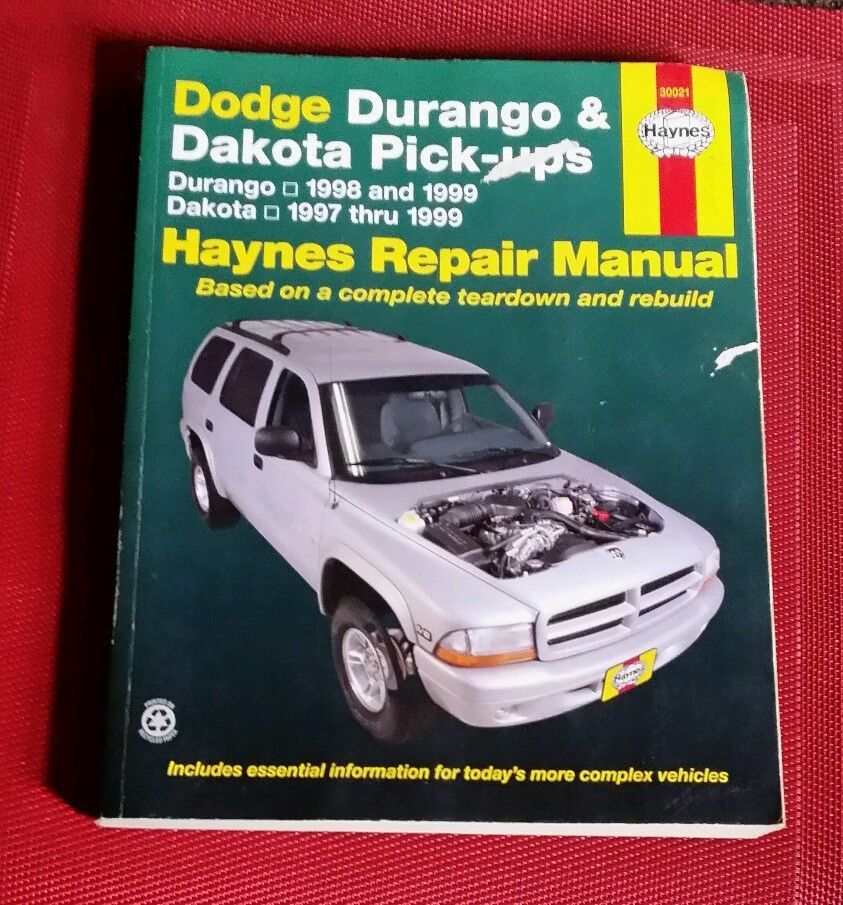 Haynes Manuals: Dodge Durango and Dakota Pick-Ups by John Haynes and Jeff...