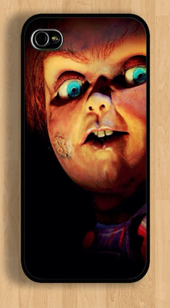 iPhone 5 5s 4 4s Scary Halloween Chuck Case Apple
