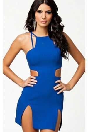 a682a8563 Vestido sexy azul intenso Francia - Corsets online lenceria vestidos ...