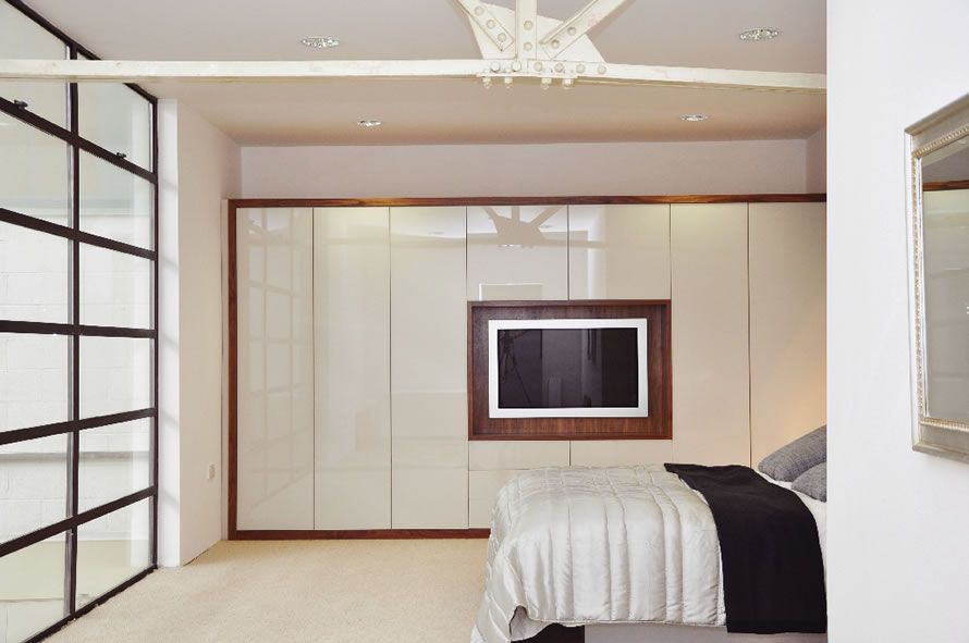 Lovely Built In Wardrobe Designs For Bedroom