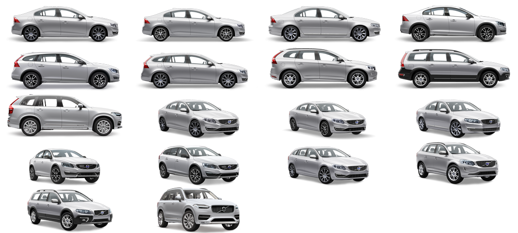 Build Price Volvo Car Collection Suv