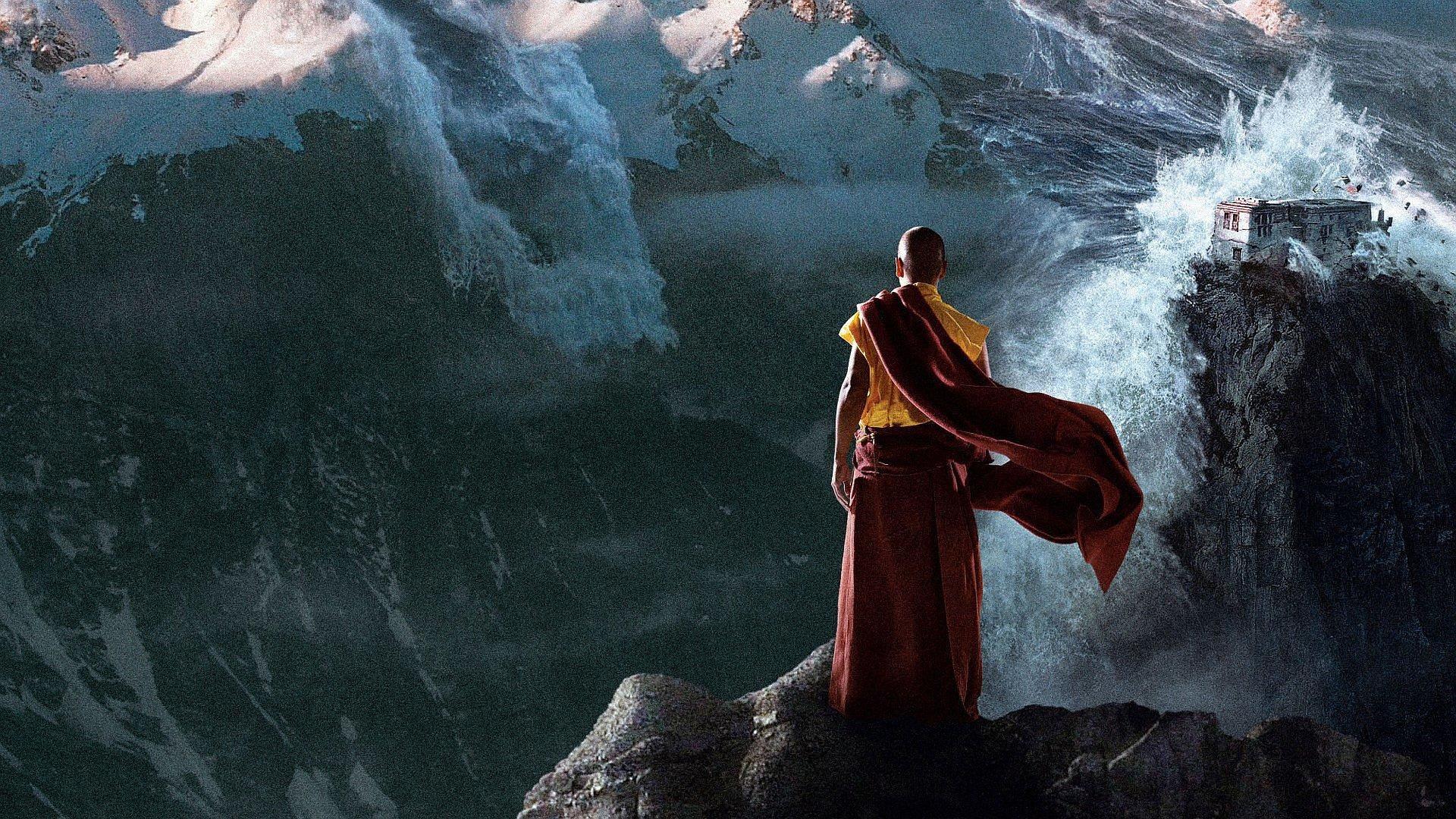 Монах и бог картинки