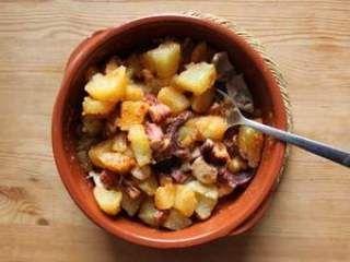 Salade tiède de poulpe et pomme de terre au paprika, Recette Ptitchef