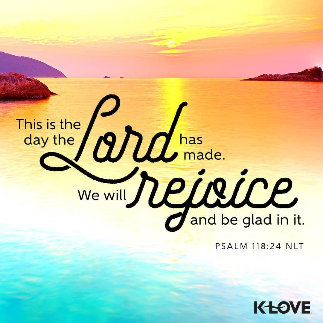 Are you ready to have a great day? 🙌 VOTD scripture